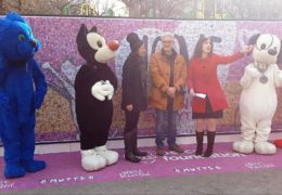AFA Host Susan Richard Anchors Petco Foundation Facebook Live Broadcast At All For Love Adoption Rally In Union Square